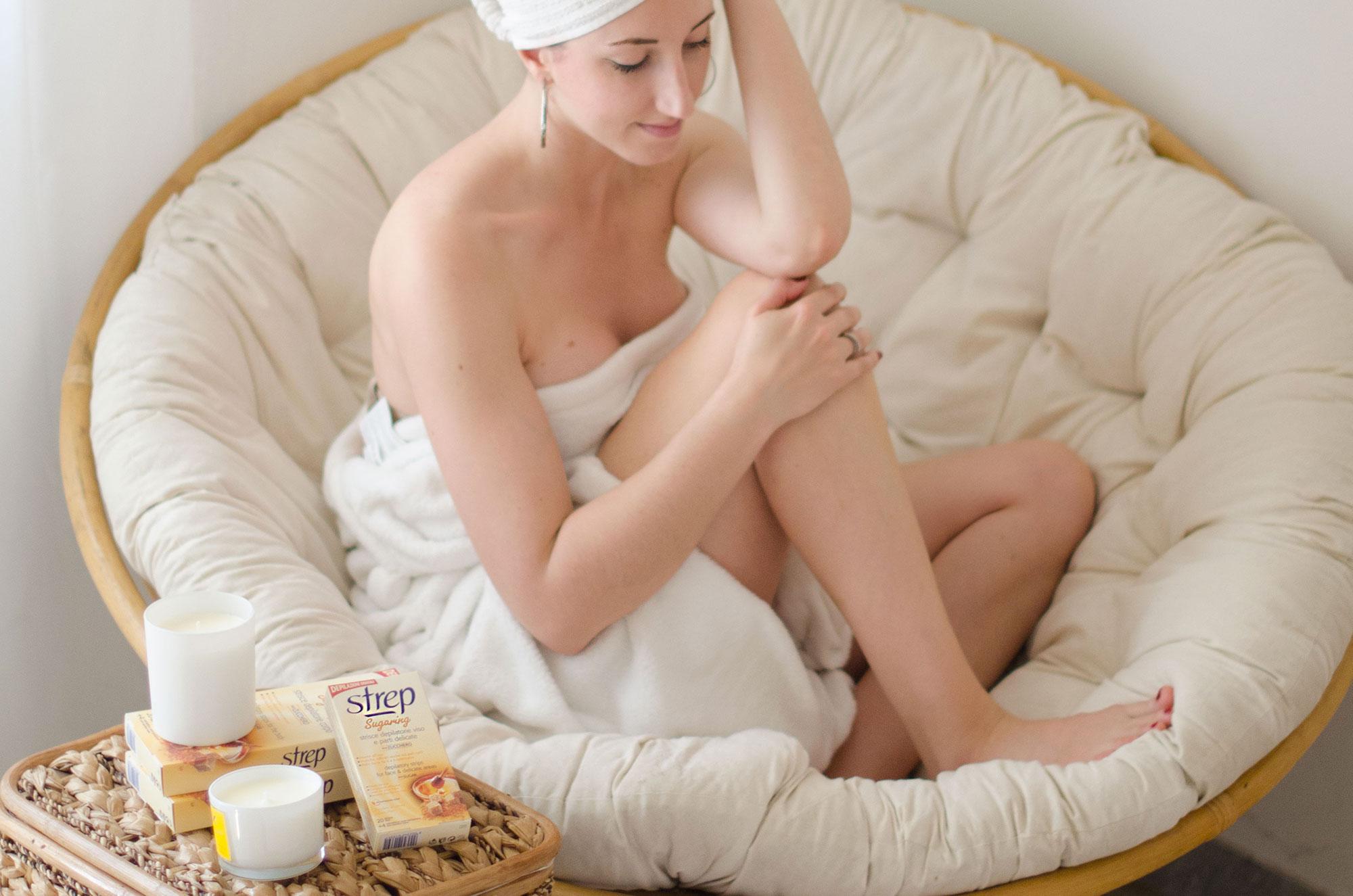 strisce strep per la depilazione
