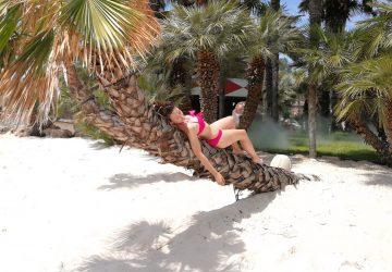 Palme, sabbia bianca e acqua di cocco: ecco perchè Aqualandia è il parco acquatico più chic