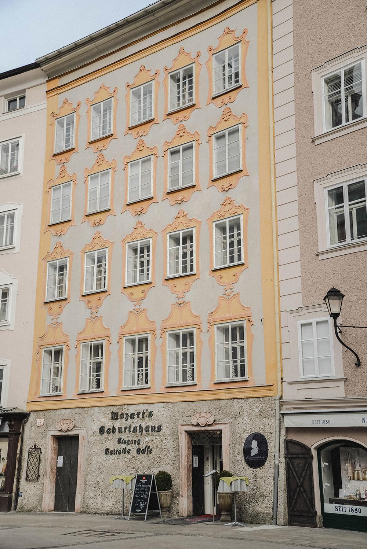 casa natale di mozart cosa fare a salisburgo