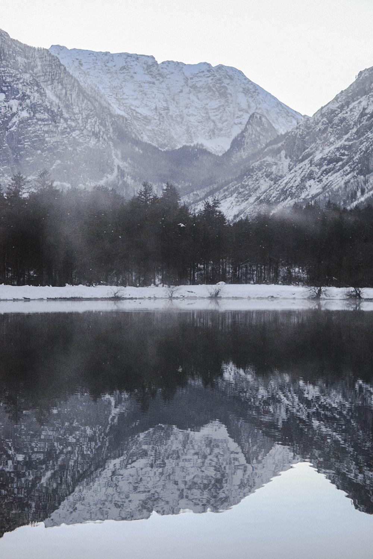 lago inverno austria salisburghese
