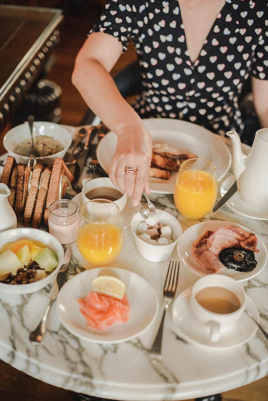 lygon arms colazione