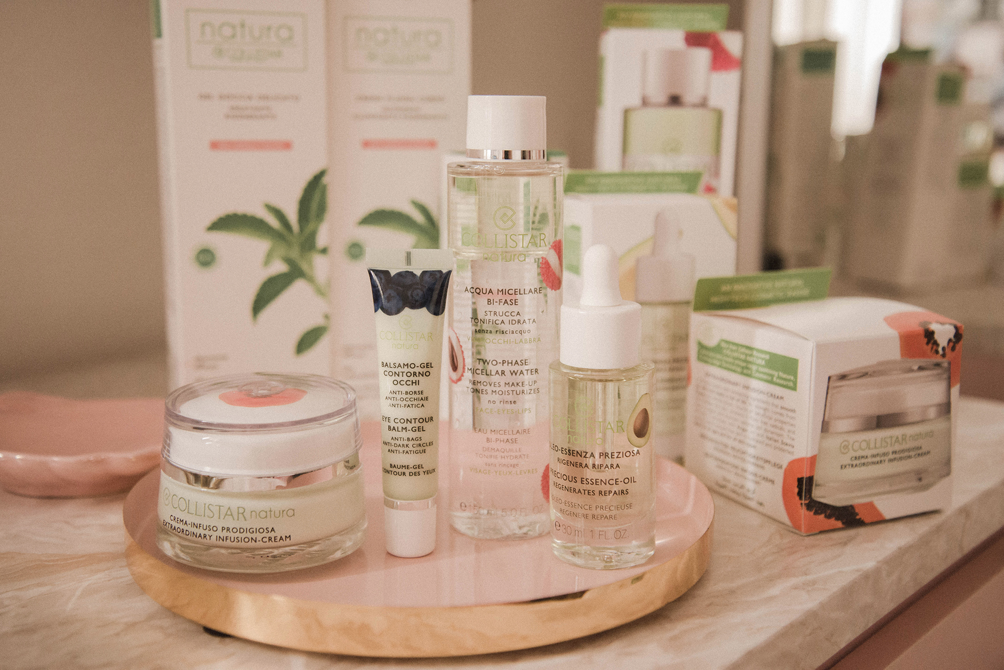 collistar skin care natura