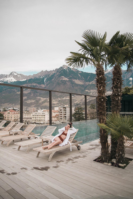 hotel terme merano pool