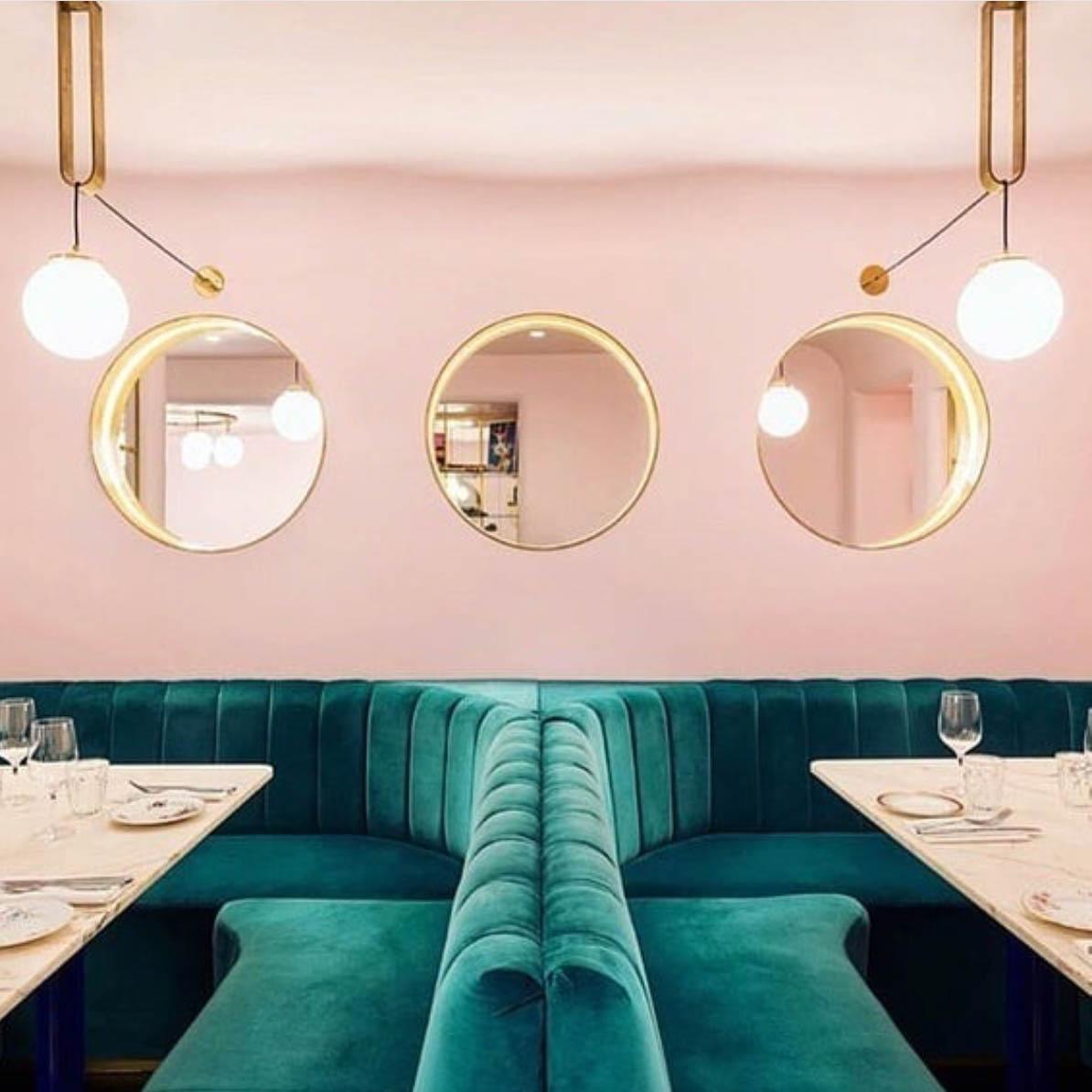 londra dove mangiare locale rosa