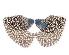 colletto perle zara