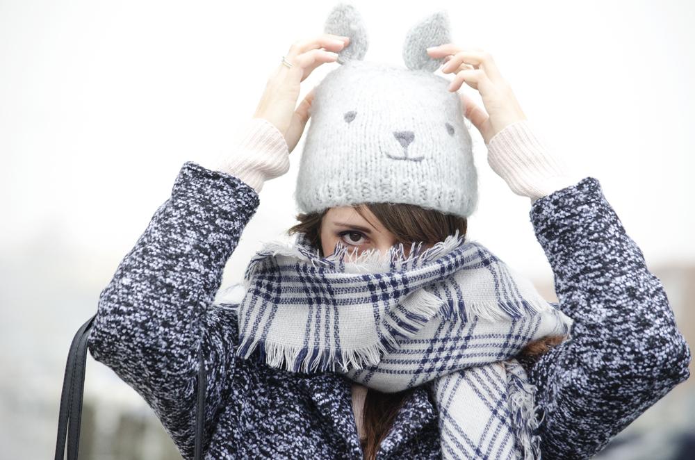 alta qualità molti alla moda metà prezzo Cappello con orecchie e cuissardes: un look contro il freddo