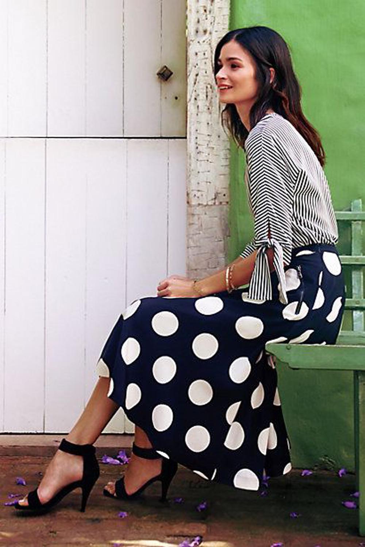 in vendita a96a5 4ce61 it]Outfit a pois: ispirazioni, idee da copiare e i pezzi ...
