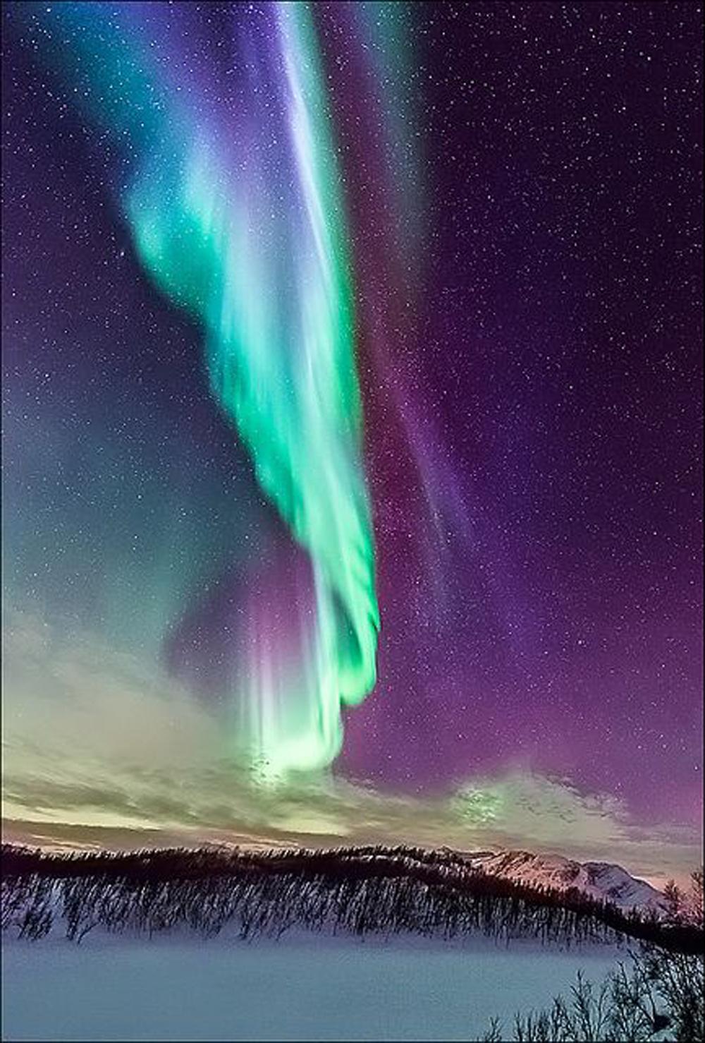 viaggio della vita | aurora boreale