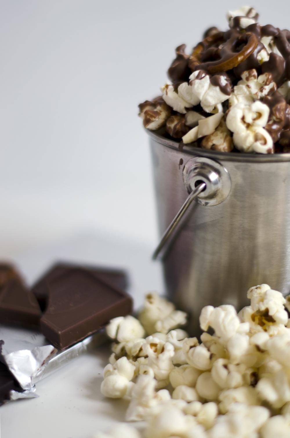 ricetta pop corn al cioccolato | popcorn al cioccolato variante