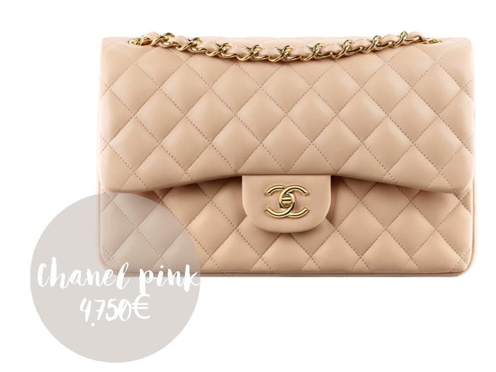 borsa chanel 2.55 rosa prezzi