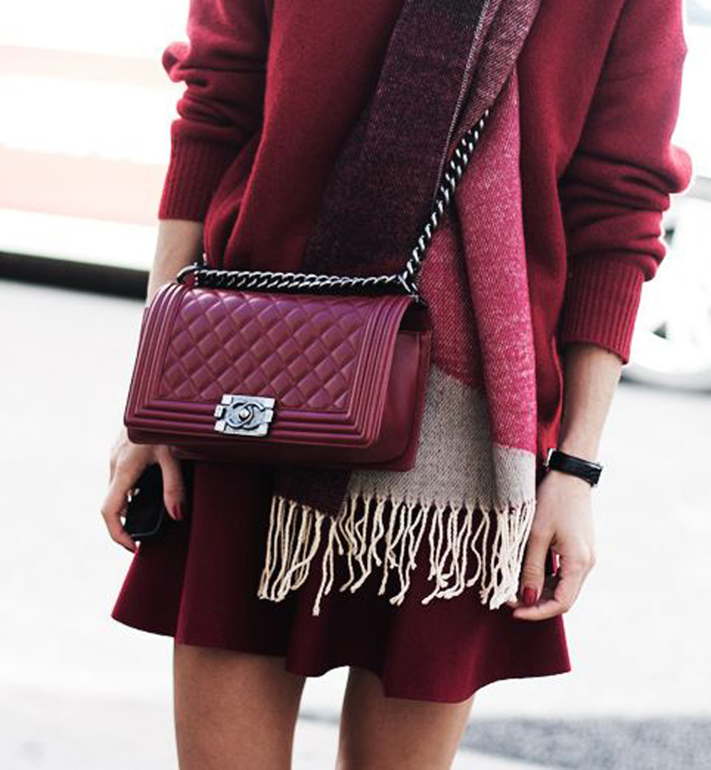 outfit borsa chanel