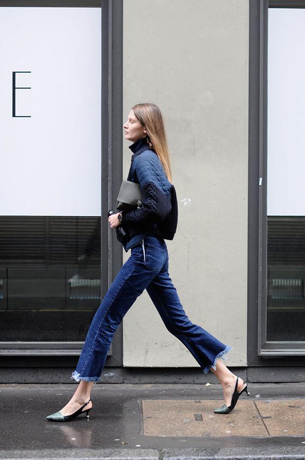 la moda pantaloni 2016 predilige il modello cropped flare