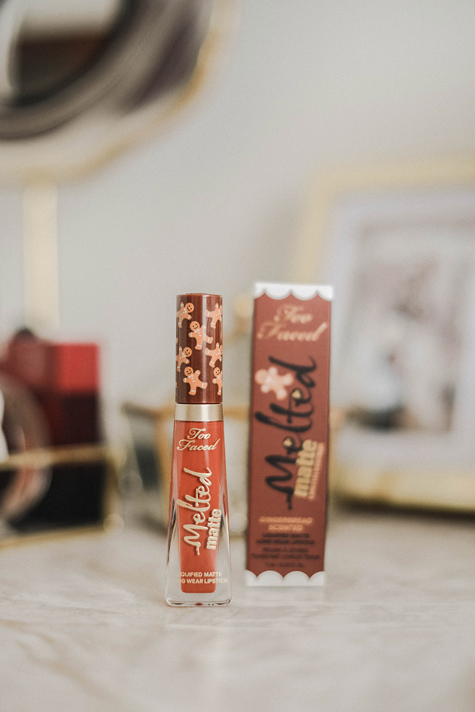 lipgloss too faced limited edition gingerbread