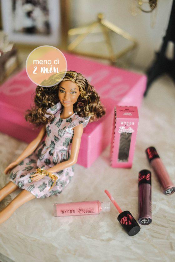 rossetto barbie wycon edizione limitata