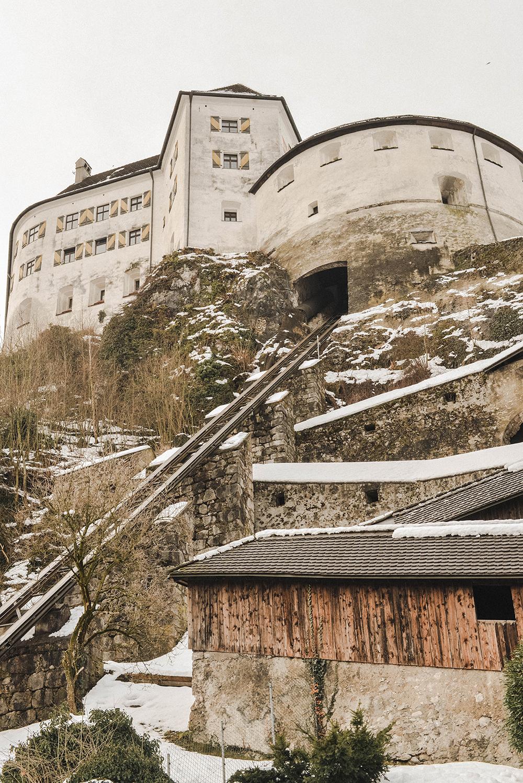 fortezza Kufstein inverno