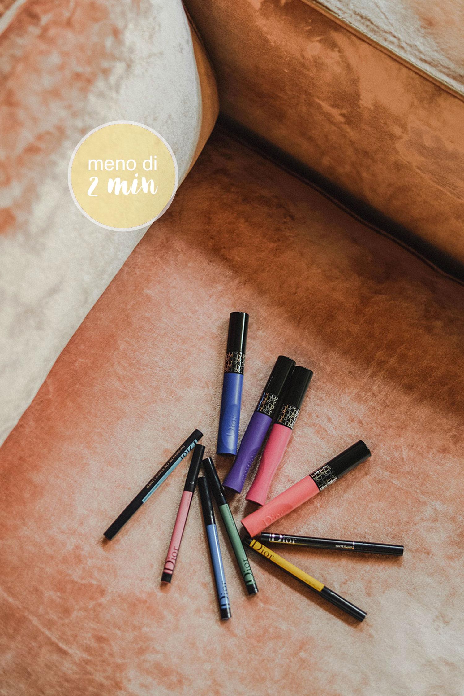 mascara liner diorshow colori