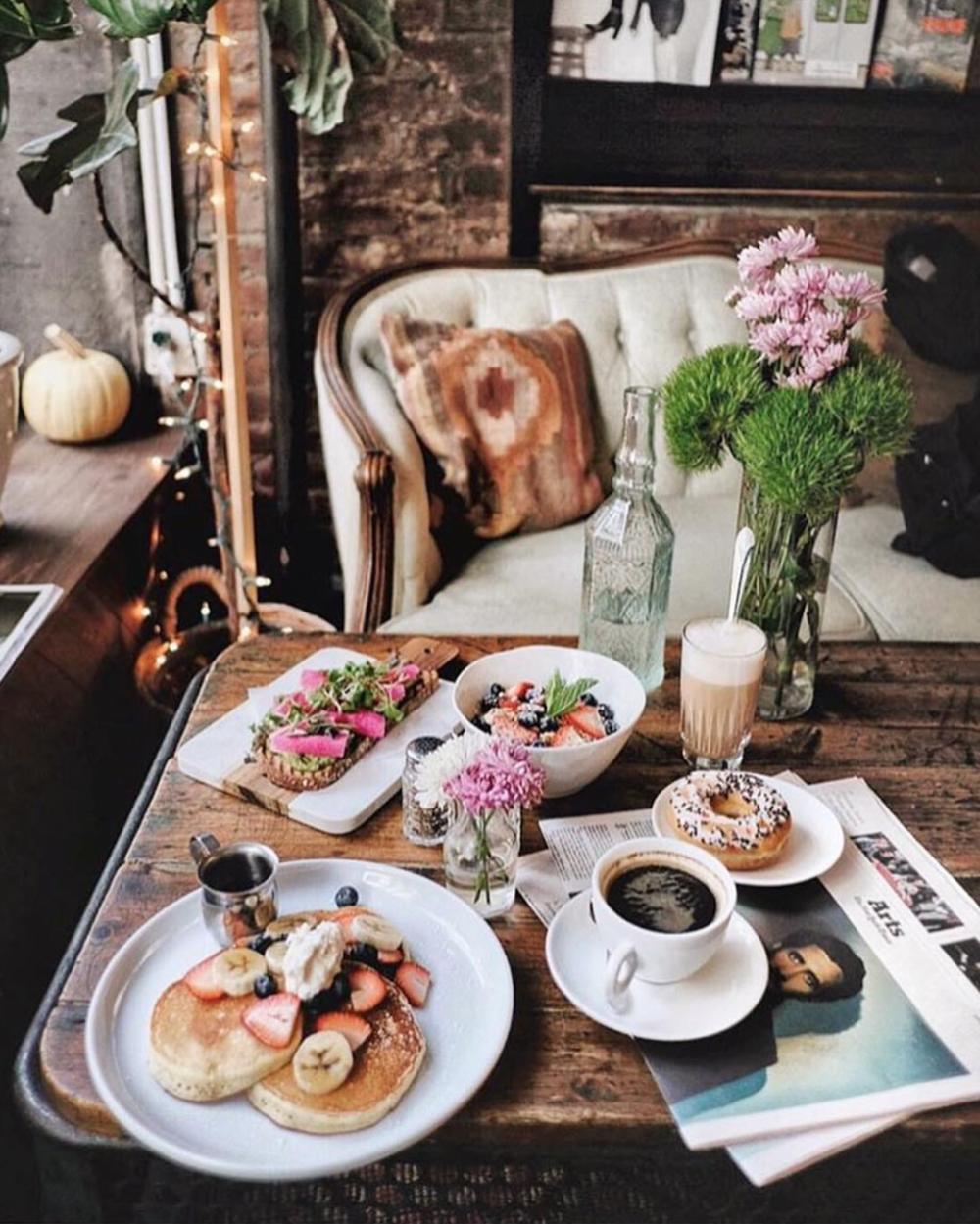 locali instagrammabili new york pancakes