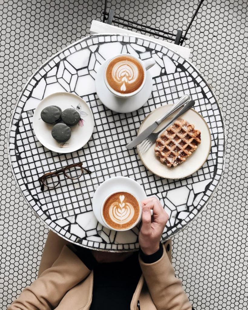 locali instagrammabili new york caffè