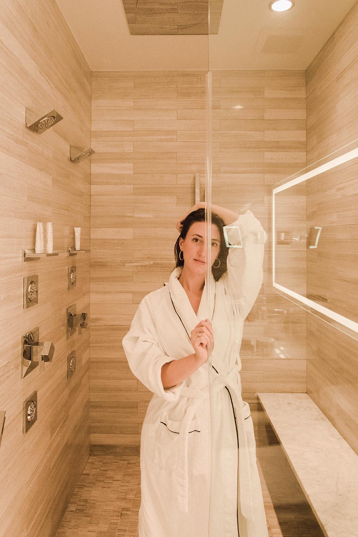 the quintillion's hotel new york doppia doccia