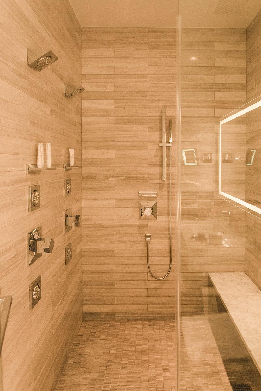 the quintillion's hotel new york bagno marmo