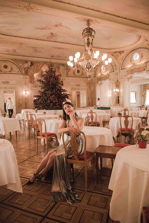 grand kronenhof hotel pontresina ristorante
