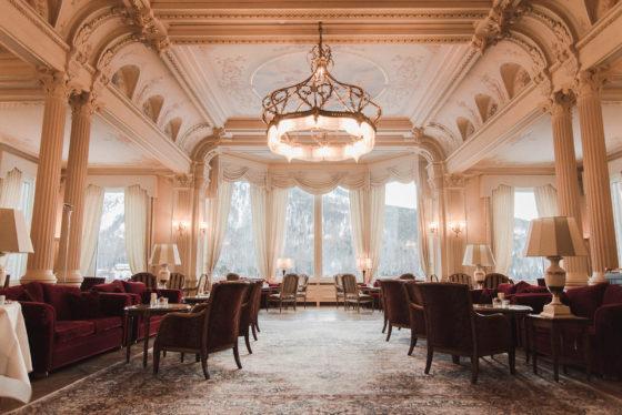 grand kronenhof hotel pontresina lobby