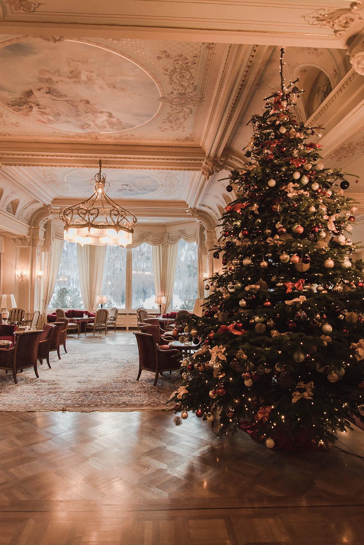 grand kronenhof hotel pontresina natale