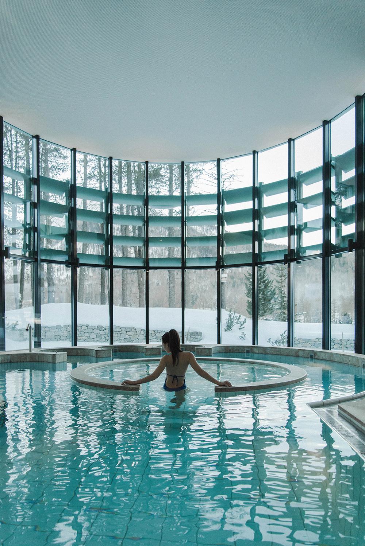 grand kronenhof hotel pontresina piscina