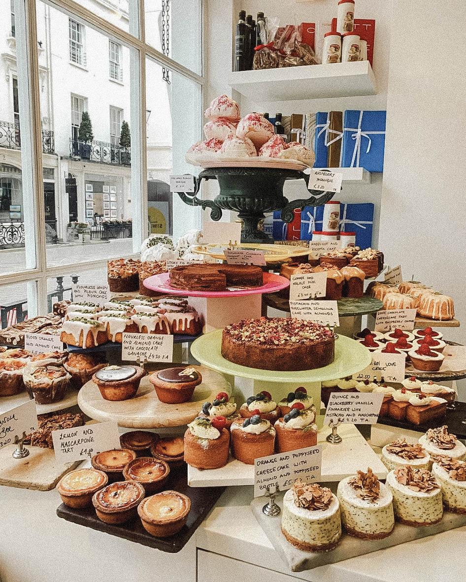 dove mangiare bakery
